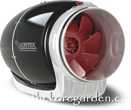 VORTEX S-1000 (1082 CFM) 10″ PRO INLINE FAN